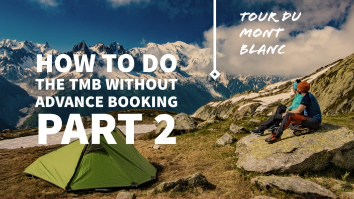 How to do the TMB without advance booking
