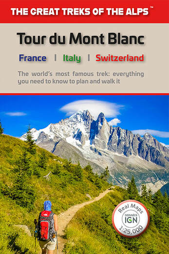 Our new guidebook to the Tour du Mont Blanc
